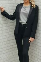 BNWT The Kooples Wool Satin Blazer Jacket Smart Casual RRP 355 EURO