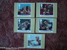 PHQ tarjetas IED atrás Nº 174 liga de rugby Centenario 1995. 5 Juego de Tarjetas Perfecto Estado