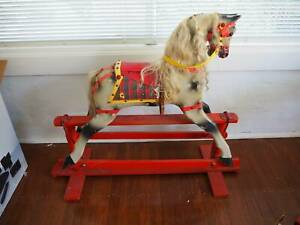 Rocking Horse unrestored Roebuck from the 1950s