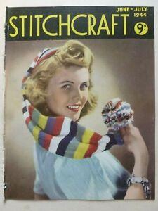 STITCHCRAFT June – July 1944 - Needlework Magazine