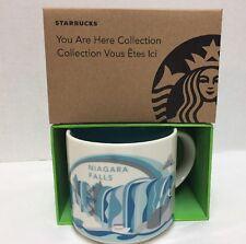 New Starbucks Niagara Falls Coffee Mug You are Here Collection YAH