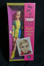 Barbie 1967 Barbie Twiggy TNT #1185 Mint In Original Sealed Box MIB