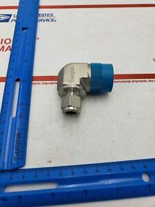 """Compresión neumática Aire Agua Tubo con codo macho 1//4/"""" X 1//8/""""npt"""