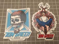 2003 Rare Vintage Tom Green Birdhouse Skull Tony HawkSkateboard Sticker