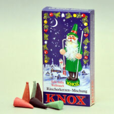 """Knox """"Christmas Mix"""" Incense Cones, 24 count - Direct From Germany"""