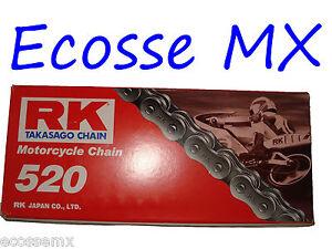 KTM RK 520X 118L Estándar Duty Cadena KTM EXC XC 125 150 200 250 300