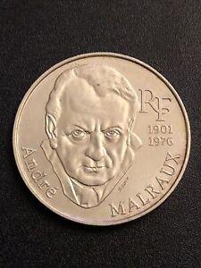 Piece De 100 Francs En Argent Andre Malraux