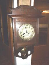 Uhr Wanduhr Freischwinger Junghans antik Art Deco / Jugendstil wall clock