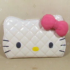 HelloKitty   Wallet Purse 2017  New Cute Pu Bow White  Long Size