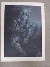 Litho LUDMILLA TCHERINA ( 1924/2004) , 65 x 48cm, N° et signée