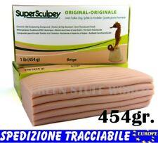Stucco Super Sculpey  Beige 454gr. Argilla professionale modellare Scultura