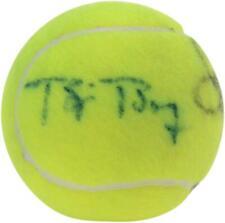 John McEnroe & Bjorn Borg Dual Autographed US Open Tennis Ball