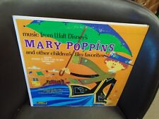 Music From Walt Disney Mary Poppins Children's Favorites LP Twinkle Records VG