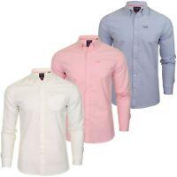Superdry Mens Shirt 'Classic Oxford University' - Long Sleeved