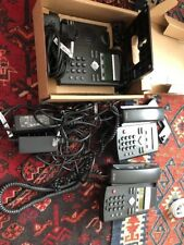 Polycom SoundPoint IP 335 VOIP Business - Set of 3 Full sets With Cables Tested