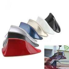 Universal Car Exterior Roof Shark Fin Roof Antenna FM/AM Signal Aerial Radio