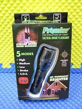 Promier Led 5 Mode Tactical Grade Flashlight w/Strobe & Sos Beam P-tackite-6/12