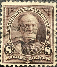 Vintage Scott #272 US 1895 Sherman Bureau Postage Stamp Watermark