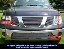 For 05-07 Nissan Pathfinder/Frontier Billet Grille Combo