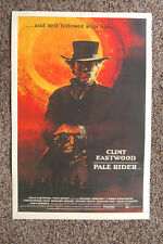 Pale Rider #2 Lobby Card Movie Poster Clint Eastwood