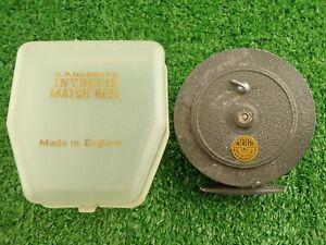 Vintage K.P. Morritt's Intrepid Match Fly Reel Made In England