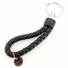 Bottega Veneta key ring Intrecciato Black Silver Woman Authentic Used T2244