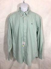 NWT Vineyard Vines Mens Hammock Green Cotton Long Sleeve Oxford Shirt Sz M