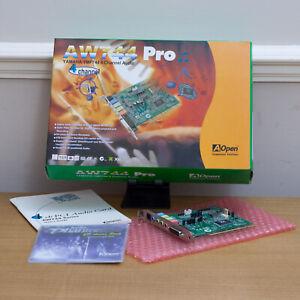 Retro AOpen Yamaha AW744 Pro 4-Channel PCI Sound Card | YMF744 YM744 | Vintage