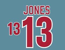 Jones #13 USA WORLD CUP 1994 NAMESET AWAY FOOTBALL per Camicia