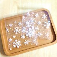 500 X Sac Sachet Pochette de Bonbons Biscuit en Plastique Transparent -