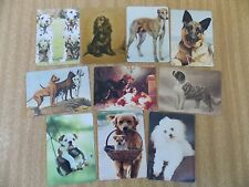 Swap playing cards   10 Modern Wides    Dogs  #D36