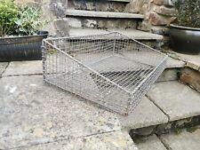Vintage Galvanised Basket