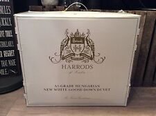 RRP £1,150 HARRODS A1-GRADE HUNGARIAN WHITE GOOSE DOWN DUVET (EMPEROR - 9 TOG)