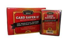 More details for cardboard gold card saver 2 ii - 5-20   50   100   200 holders psa bgs-uk seller