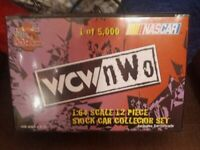 NIB 1999 WCW NWO 1:64 SCALE 12 PIECE STOCK CAR SET RACING CHAMPIONS MINT SEALED