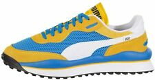 Men's Puma Style Rider Stream On Plat Blue-Spectra Yellow