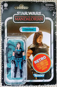 Star Wars Cara Dune Action Figure 3.75 Scale Retro Collection In Stock