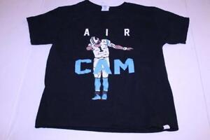 Youth Carolina Panthers Cam Newton S T-Shirt Tee (Black) GIldan