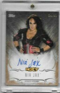 Nia Jax 2016 Topps WWE Undisputed NXT GOLD AUTO 24/99