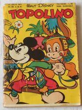 TOPOLINO libretto n.46  Ed. Mondadori 1952  !!!!!!!!!