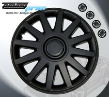 """Matte Black Style 610 16 Inches Hubcap Wheel Cover Rim Skin Covers 16"""" Inch 4pcs"""