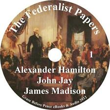 The Federalist Papers, Hamilton, Jay, Madison Audiobook unabridged on 1 MP3 CD