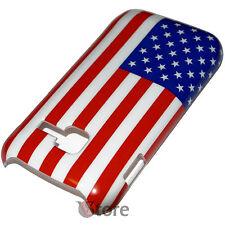 Cover Per SAMSUNG S5380 Wave Y 538 Bandiera America Americana + Pellicola