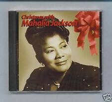 MAHALIA JACKSON - CHRISTMAS WITH - NEW SEALED CD