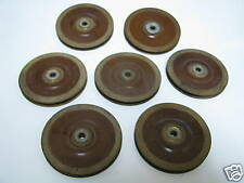 LOT OF 7 AIRCRAFT  PULLEYS  pulley an 214-2 pullies