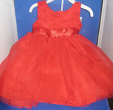 HOLIDAY EDITION TODDLER  DRESS  12 MONTHS, NEW WITHOUT TAGS