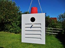 Vogelhaus, Nistkasten, Vogelhäuschen, Feuer Alarm, Sirene, groß