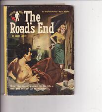 ALBERT CONROY - THE ROAD'S END    Phantom pulp crime