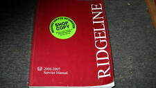 2007 Honda Ridgeline TRUCK Service Repair Manual OEM NEW DEALERSHIP