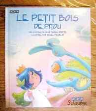 LE PETIT BOIS DE PITOU - 3 chardons cartonné  état neuf